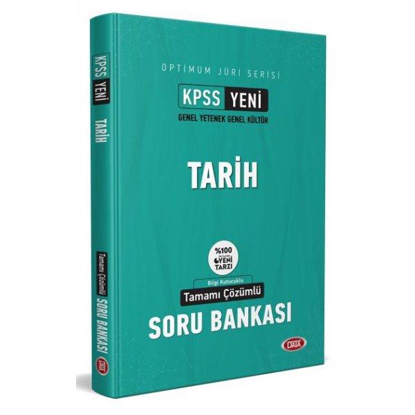 2021 KPSS Jüri Optimum Serisi Tarih Çözümlü Soru Bankası Data Yayınları