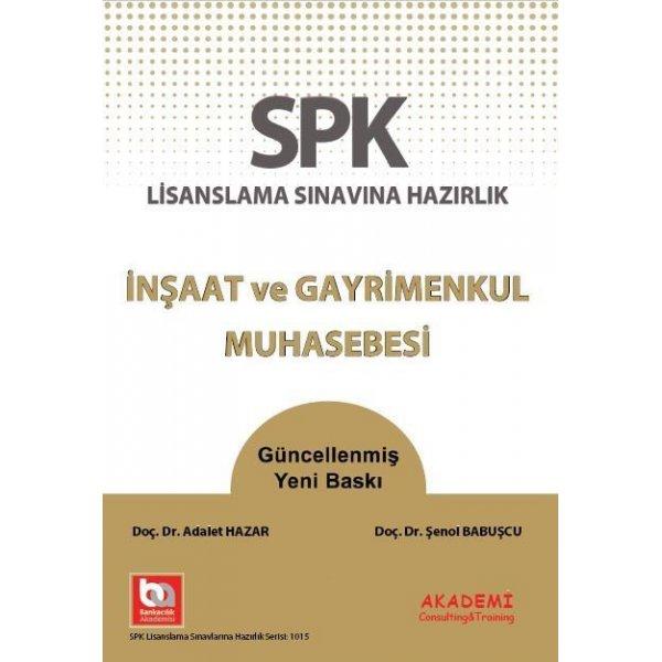 SPK İnşaat ve Gayrimenkul Muhasebesi Akademi Consulting Yayınları