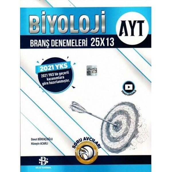 Ayt Sarmal Deneme Biyoloji 25X13 2021 Bilgi Sarmal Yayınları
