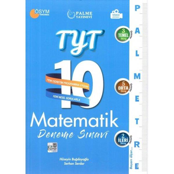 Palme Yayınları TYT Matematik Palmetre 10 Deneme Video Çözümlü