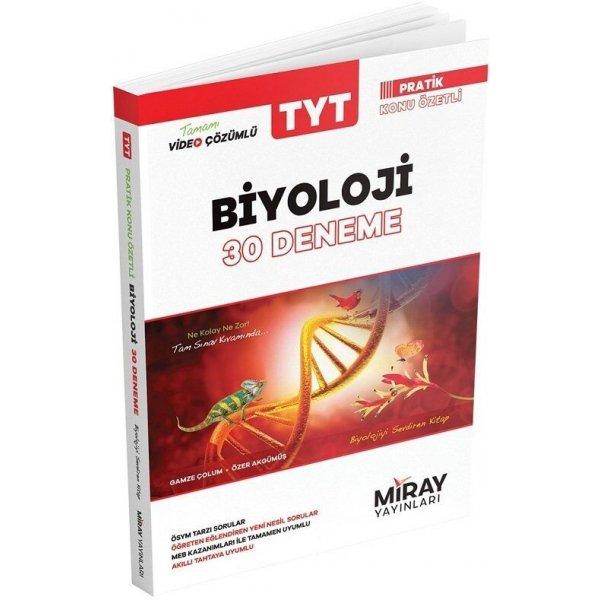 Miray Yayınları TYT Biyoloji 30 Deneme Video Çözümlü
