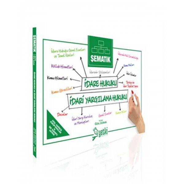 Şematik İDARE HUKUKU VE İDARİ YARGILAMA HUKUKU Yetki Yayınları