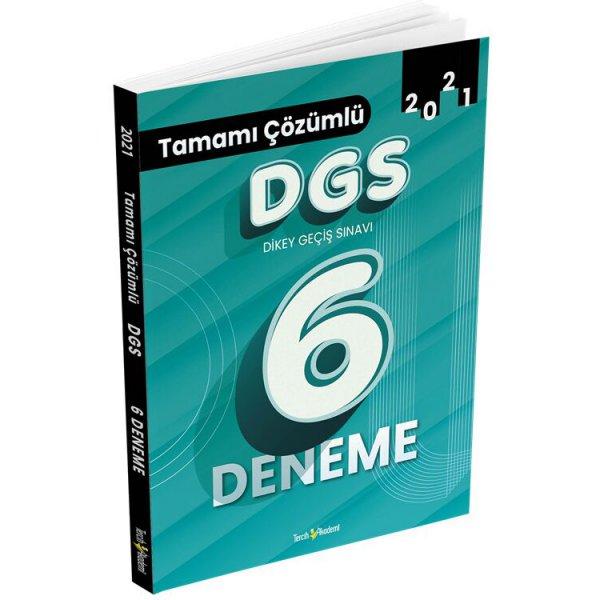 Tercih Akademi DGS Tamamı Çözümlü 6 Deneme