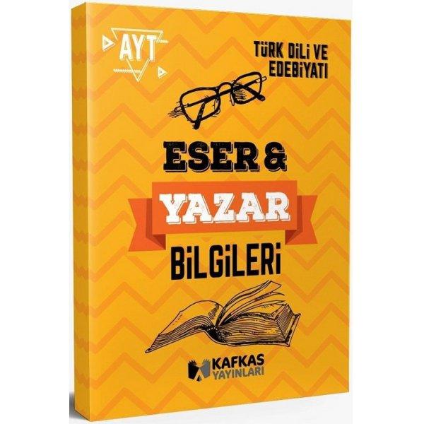 AYT Türk Dili ve Edebiyatı Eser Yazar Bilgileri Kafkas Yayınları
