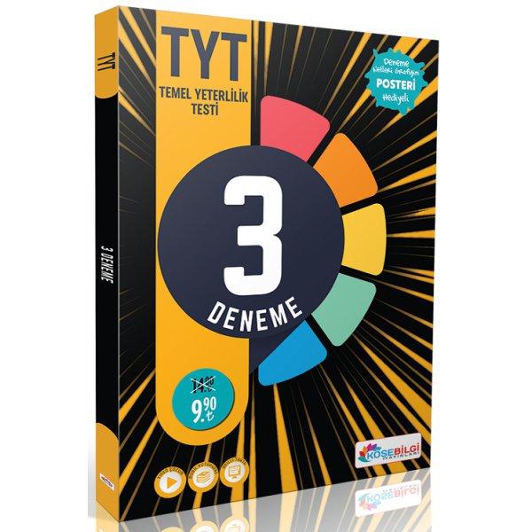 2021 YKS TYT Fasikül 3 Deneme Video Çözümlü Köşebilgi Yayınları