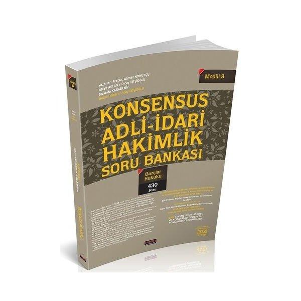 KONSENSUS Adli İdari Hakimlik Borçlar Hukuku Soru Bankası Savaş Yayınları