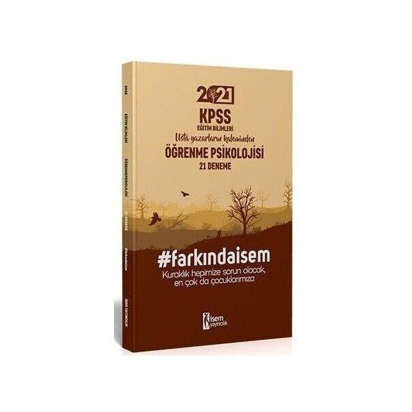 2021 KPSS Eğitim Bilimleri Öğrenme Psikolojisi 21 Deneme İsem Yayınları