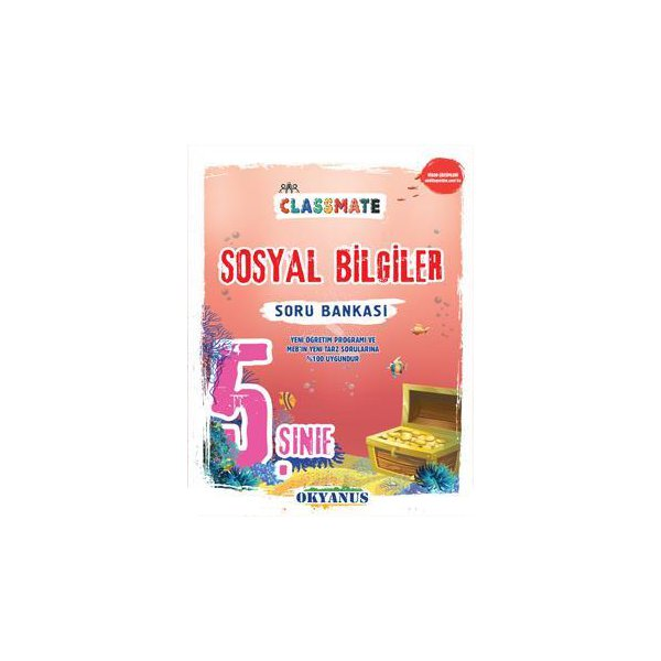 5. Sınıf Classmate Sosyal Bilgiler Soru Bankası Okyanus Yayınları