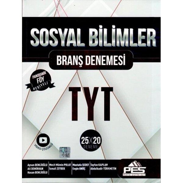Pes Yayınları TYT Sosyal Bilimler Branş Denemesi