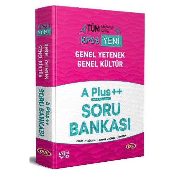 KPSS Genel Yetenek - Genel Kültür A plus ++ Soru Bankası Data Yayınları
