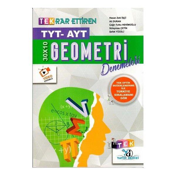 Yayın Denizi TYT AYT Geometri TEK Serisi 30 x 10 Denemeleri