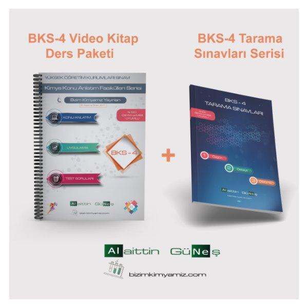 BKS-4 Kitabı + Video Ders Paketi + BKS-4 Tarama Sınavları Alaittin Güneş