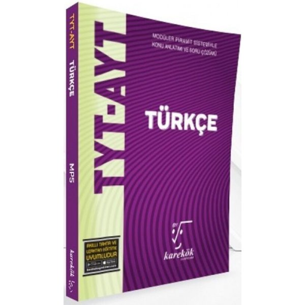 Karekök Yayınları TYT AYT Türkçe MPS Konu Anlatımlı Soru Bankası