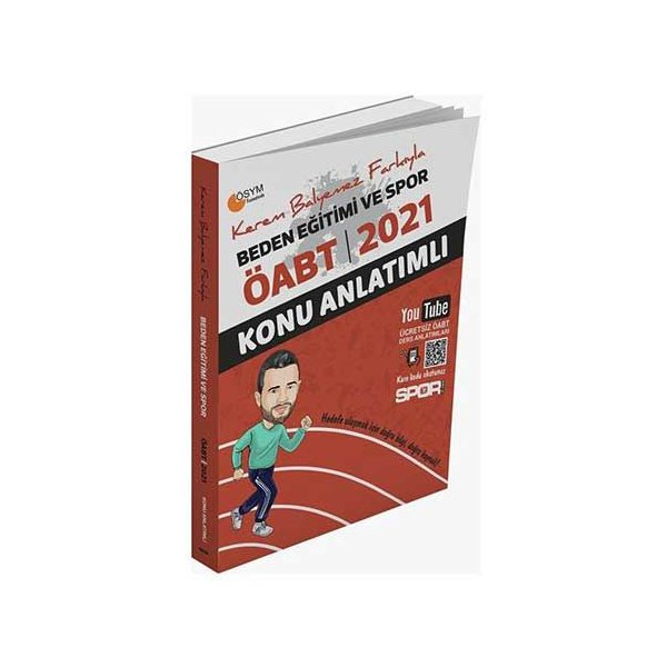 2021 ÖABT Beden Eğitimi ve Spor Öğretmenliği Konu Anlatımlı Kerem Balyemez BESYO Yayınları
