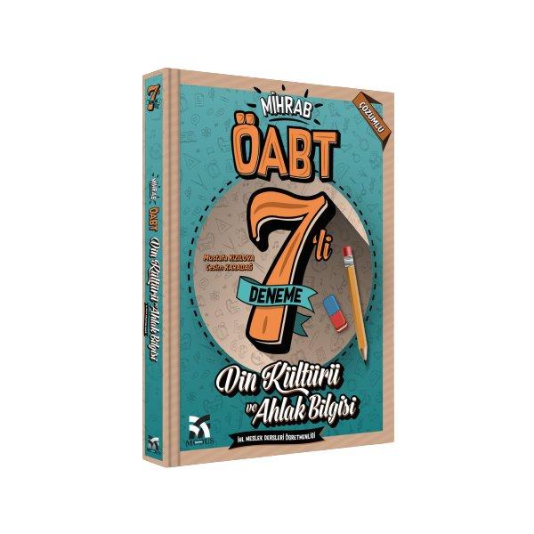 2021 ÖABT Din Kültürü ve Ahlak Bilgisi ve İHL Meslek Dersleri Mihrab 7 Deneme Çözümlü Modus Yayınları