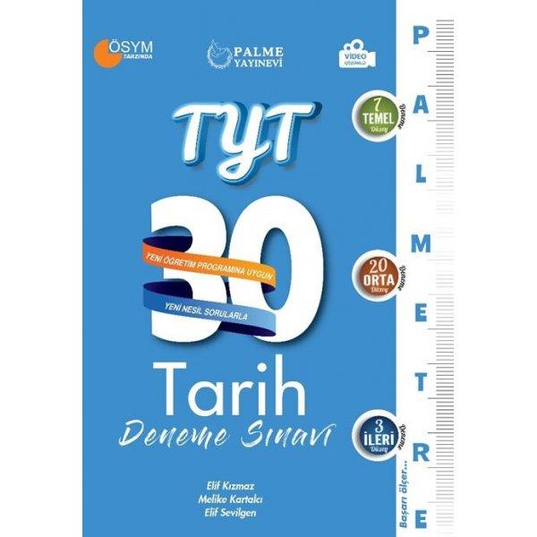 Palme Yayınları TYT Tarih Palmetre Serisi 30 Deneme Video Çözümlü