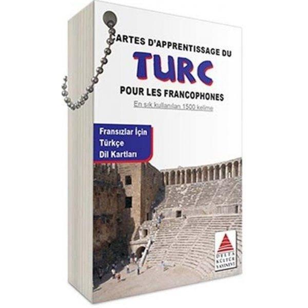 Delta Kültür Fransızlar için Türkçe Dil Kartları