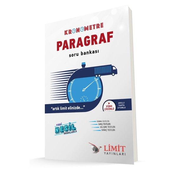 Kronometre Paragraf Soru Bankası Limit Yayınları 2020