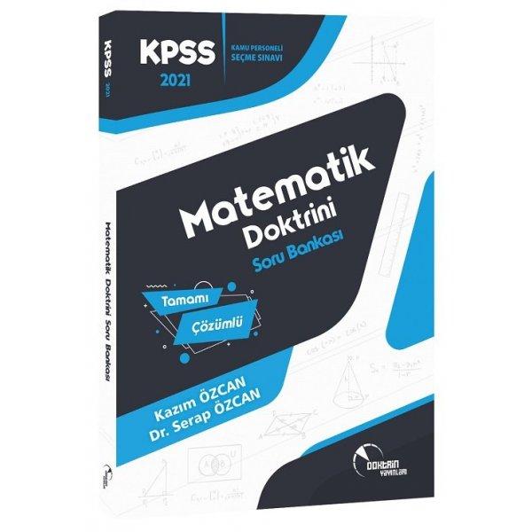 2021 KPSS Matematik Doktrini Soru Bankası Çözümlü Doktrin Yayınları
