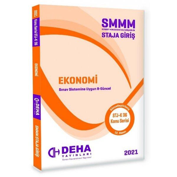 Deha 2021 SMMM Staja Giriş Ekonomi Konu Anlatımlı Deha Yayınları
