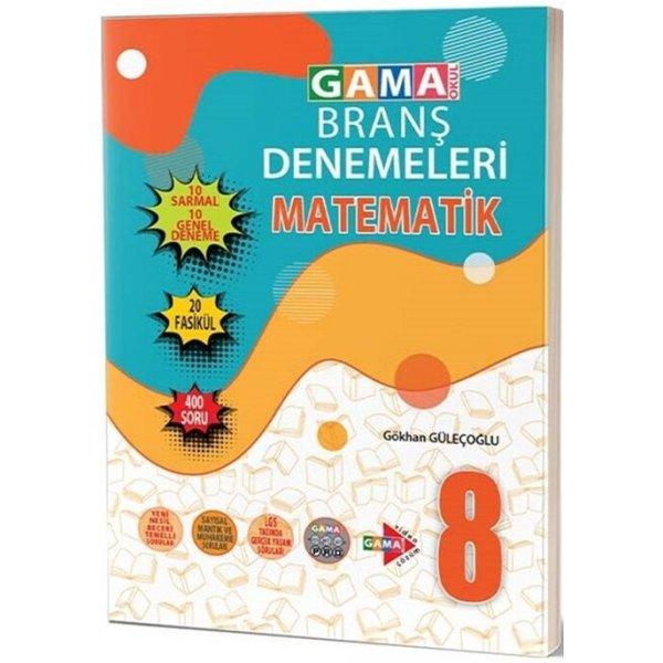 Gama Okul Yayınları 8. Sınıf Matematik 20 Deneme