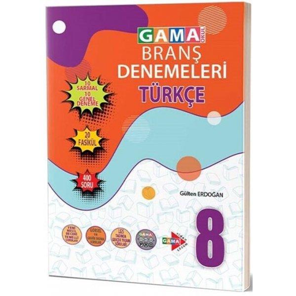 Gama Okul Yayınları 8. Sınıf Türkçe 20 Deneme