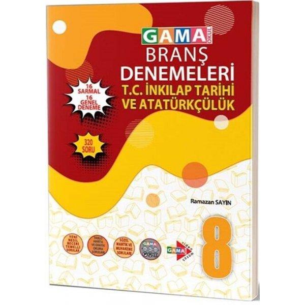 Gama Okul Yayınları 8. Sınıf T.C. İnkılap Tarihi ve Atatürkçülük 32 Deneme
