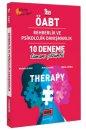 2021 ÖABT Therapy Rehberlik ve Psikolojik Danışmanlık Tamamı Çözümlü 10 Deneme Yargı Yayınları
