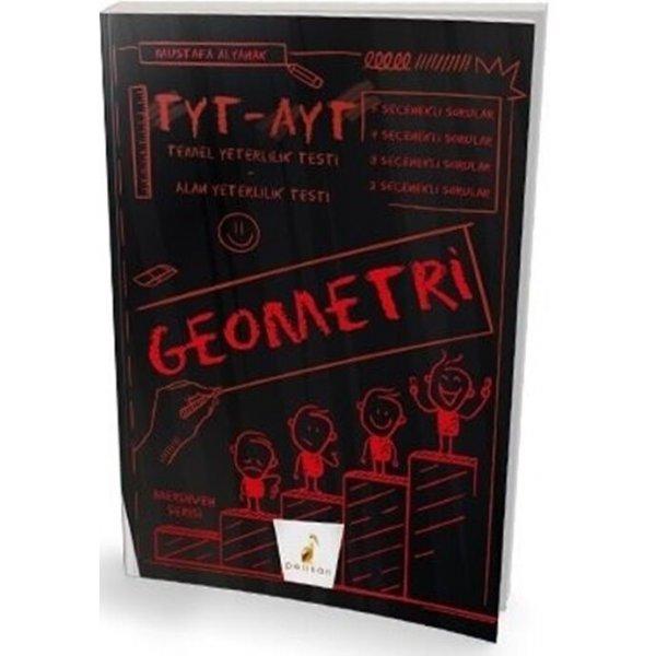 Pelikan Yayınları TYT AYT Geometri Merdiven Soru Bankası