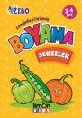Zenginleştirilmiş Boyama Sebzeler 3 4 Yaş Limon Kids Yayınları