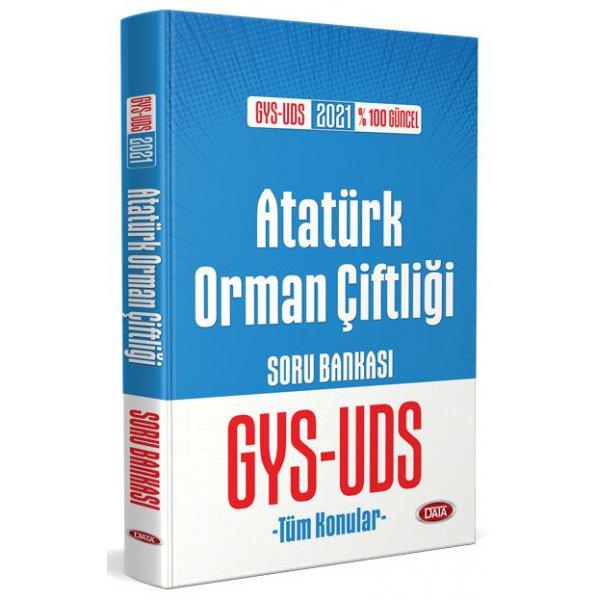 2021 GYS-UDS AOÇ Atatürk Orman Çiftliği Görevde Yükselme ve Unvan Değişikliği Soru Bankası Data Yayınları