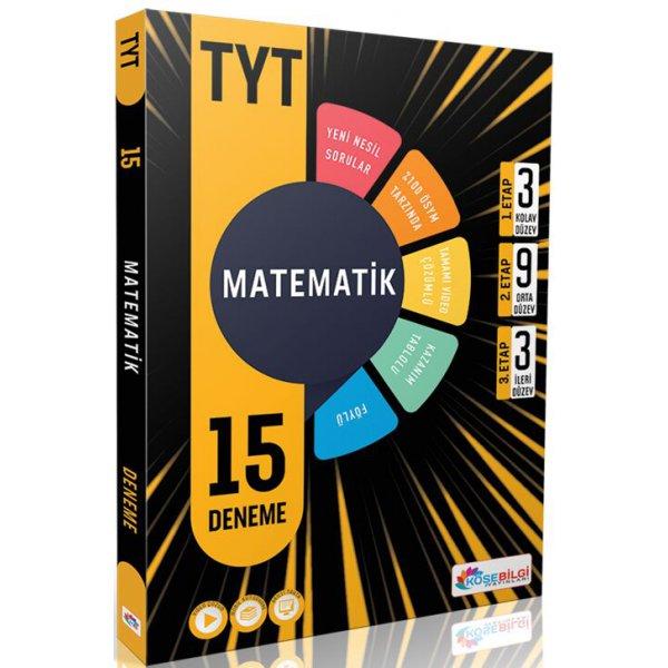 Tyt Matematik 15 Deneme Köşebilgi Yayınları