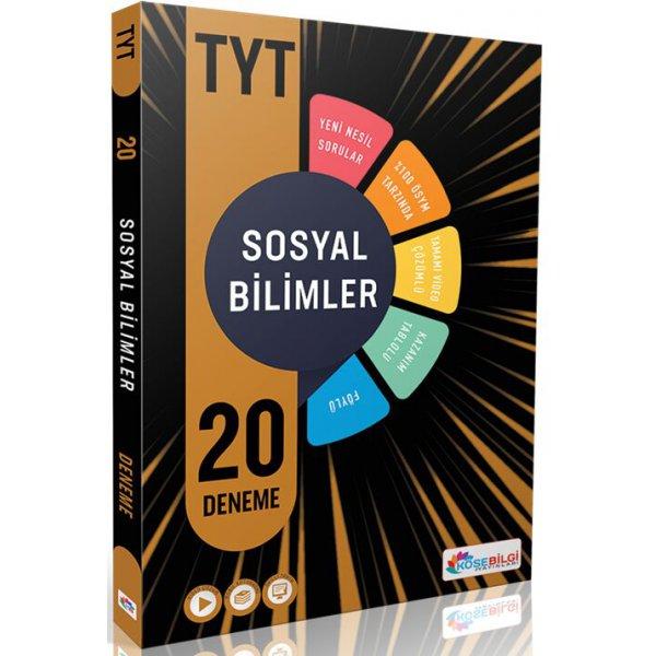 KöşeBilgi Yayınları TYT Sosyal Bilimler 20 Deneme