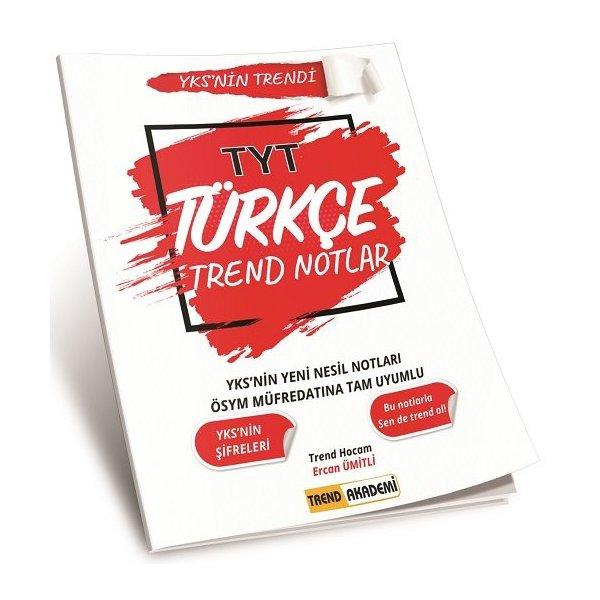 2021 TYT Türkçe Trend Notlar Trend Akademi Yayınları