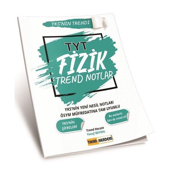 2021 TYT Fizik Trend Notlar Trend Akademi Yayınları