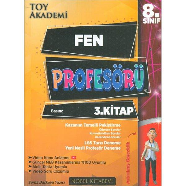 LGS 8. Sınıf Fen Profesörü 3. kitap Toy Akademi Yayınları