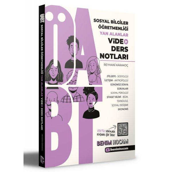 2021 ÖABT Sosyal Bilgiler Öğretmenliği Yan Alanlar Video Ders Notları Benim Hocam Yayınları