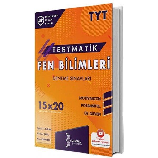 Bilinçsel Yayınları 2021 TYT Fen Bilimleri Testmatik Deneme Sınavları