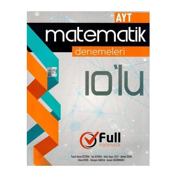 Full Matematik AYT Matematik 10 lu Denemeleri