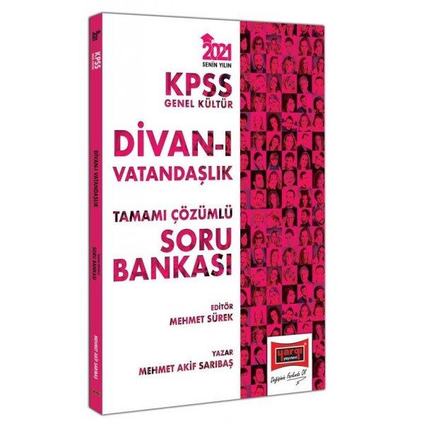 2021 KPSS Genel Kültür Divan ı Vatandaşlık Tamamı Çözümlü Soru Bankası Yargı Yayınları