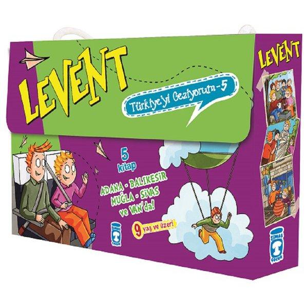 Levent Türkiye'yi Geziyorum Seti-5 Kitap Takım