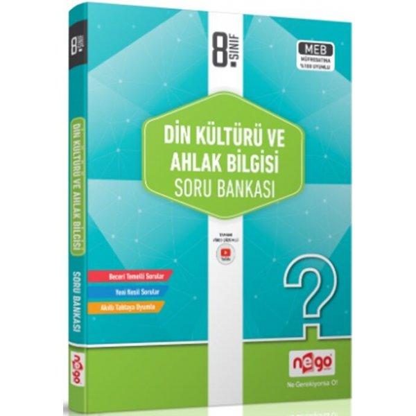 Nego Yayınları 8. Sınıf Din Kültürü ve Ahlak Bilgisi Soru Bankası