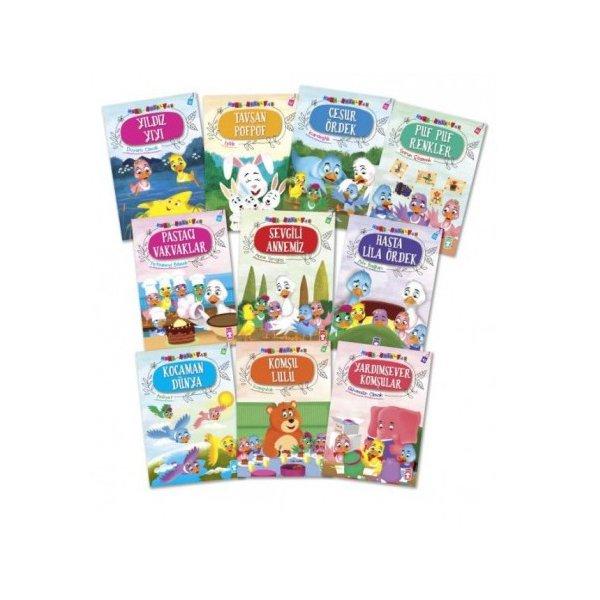 Mini Masallar 4 Set-10 Kitap Takım
