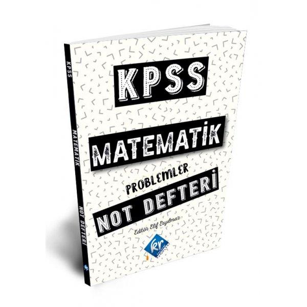 2021 KPSS Matematik Not Defteri KR Akademi