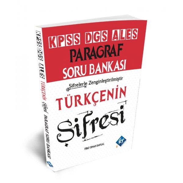 2021 KPSS Türkçenin Şifresi Paragraf Soru Bankası KR Akademi