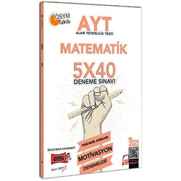 2021 AYT Matematik 5x40 Motivasyon Deneme Sınavı Yargı Yayınları