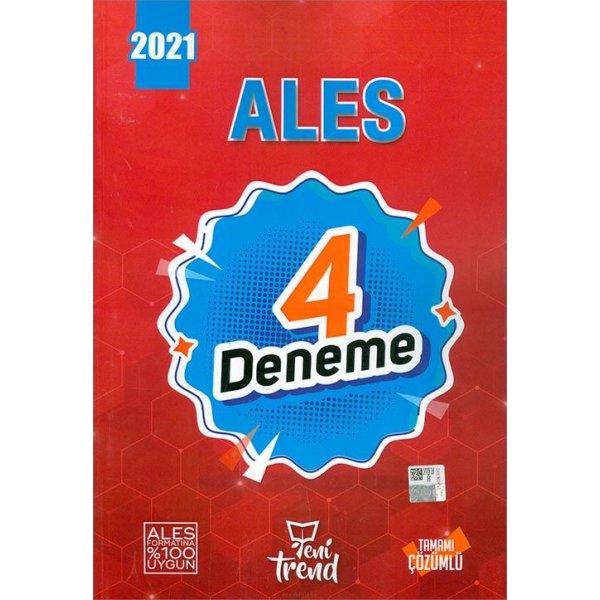 Yeni Trend 2021 ALES Tamamı Çözümlü 4 Deneme