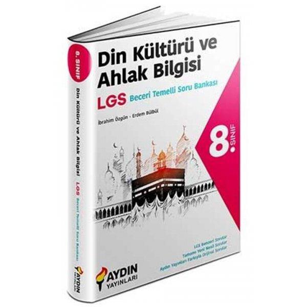 8. Sınıf LGS Din Kültürü ve Ahlak Bilgisi Beceri Temelli Soru Bankası Aydın Yayınları