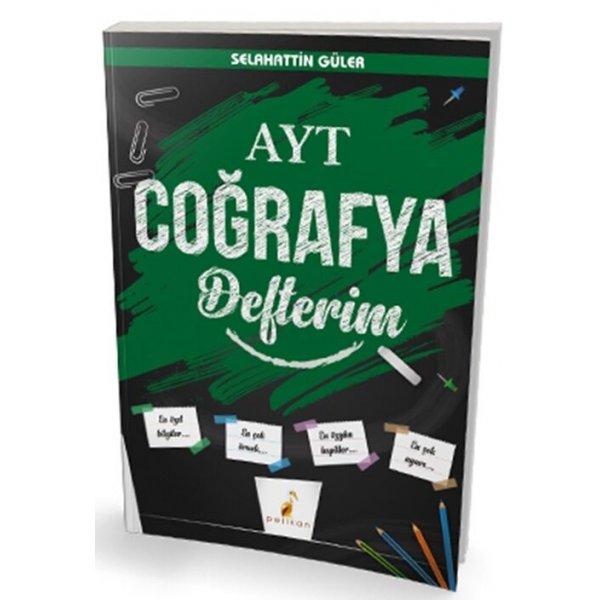Pelikan Yayınları AYT Coğrafya Defterim