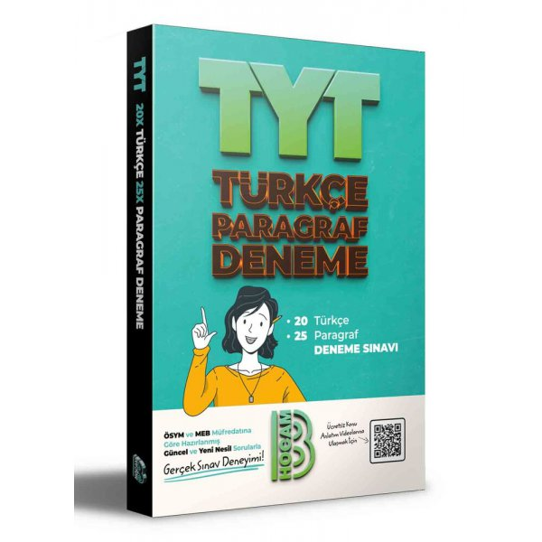 2021 TYT Türkçe 25 Paragraf Deneme Benim Hocam